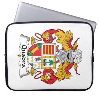 Escudo de la familia de Quadra Mangas Portátiles