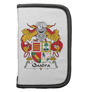 Escudo de la familia de Quadra Organizador