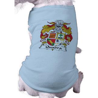 Escudo de la familia de Quadra Camisetas De Perrito