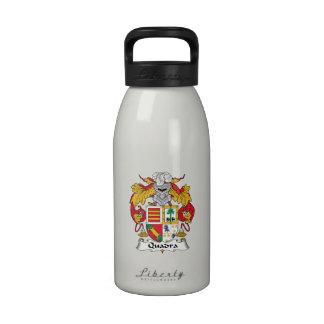 Escudo de la familia de Quadra Botella De Agua
