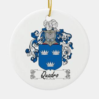 Escudo de la familia de Quadro Adornos