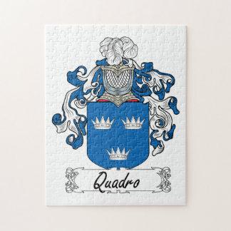 Escudo de la familia de Quadro Rompecabezas Con Fotos