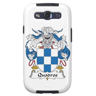 Escudo de la familia de Quadros Galaxy SIII Protector