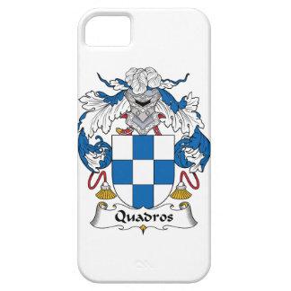 Escudo de la familia de Quadros iPhone 5 Carcasa