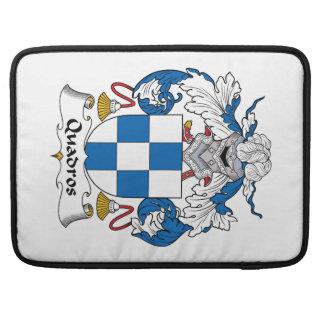 Escudo de la familia de Quadros Funda Para Macbook Pro