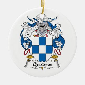 Escudo de la familia de Quadros Adorno Para Reyes