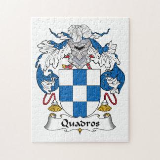 Escudo de la familia de Quadros Puzzle Con Fotos