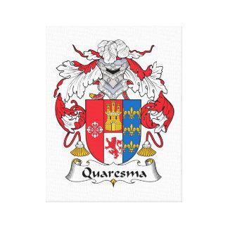 Escudo de la familia de Quaresma Lona Estirada Galerias