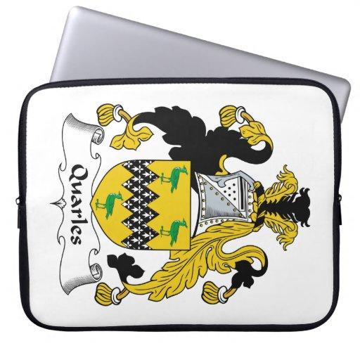 Escudo de la familia de Quarles Manga Computadora