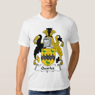 Escudo de la familia de Quarles Polera
