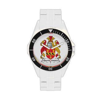 Escudo de la familia de Quartermaines Reloj