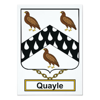 Escudo de la familia de Quayle