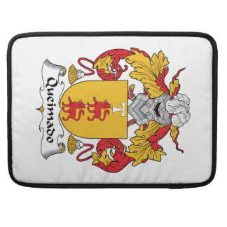 Escudo de la familia de Queimado Fundas Macbook Pro