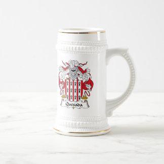Escudo de la familia de Quesada Jarra De Cerveza