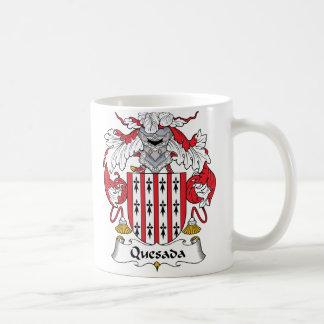 Escudo de la familia de Quesada Taza De Café