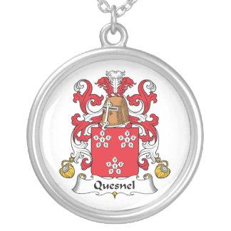 Escudo de la familia de Quesnel Colgante Redondo
