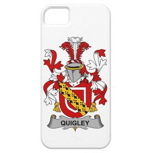 Escudo de la familia de Quigley iPhone 5 Funda