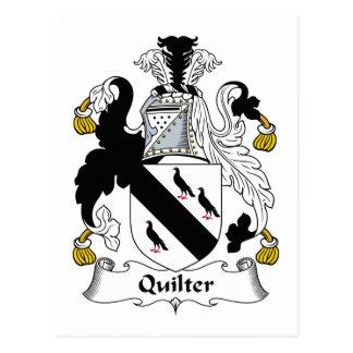 Escudo de la familia de Quilter Tarjeta Postal