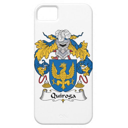 Escudo de la familia de Quiroga iPhone 5 Protector