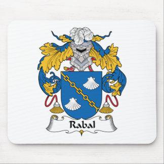 Escudo de la familia de Rabal Tapete De Ratón