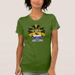 Escudo de la familia de Rabe Camisetas