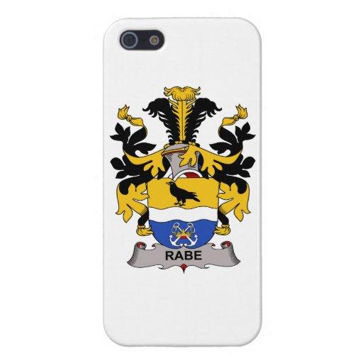 Escudo de la familia de Rabe iPhone 5 Protector