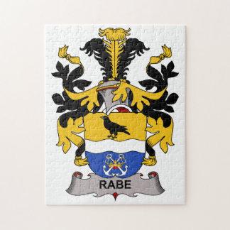 Escudo de la familia de Rabe Puzzle