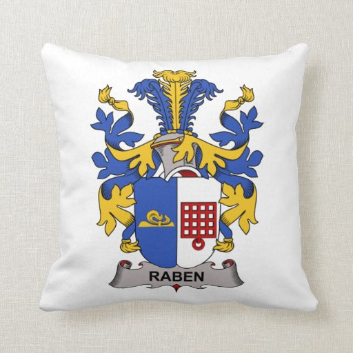 Escudo de la familia de Raben Almohadas