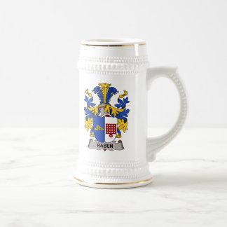 Escudo de la familia de Raben Tazas De Café