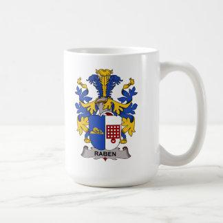 Escudo de la familia de Raben Taza De Café
