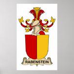 Escudo de la familia de Rabenstein Impresiones
