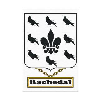 Escudo de la familia de Rachedal Impresiones En Lona Estiradas