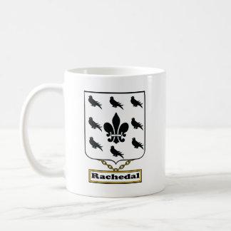 Escudo de la familia de Rachedal Taza Clásica