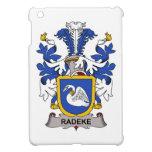 Escudo de la familia de Radeke iPad Mini Cárcasas