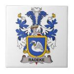Escudo de la familia de Radeke Tejas