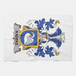 Escudo de la familia de Radeke Toallas De Mano