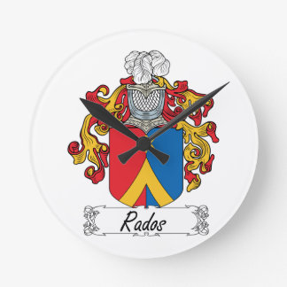 Escudo de la familia de Rados Reloj Redondo Mediano