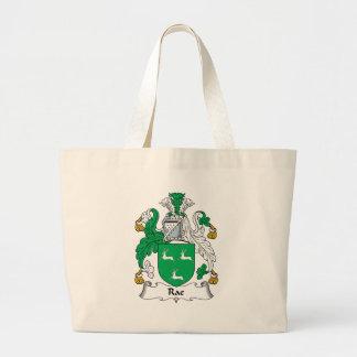 Escudo de la familia de Rae Bolsa De Mano