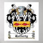 Escudo de la familia de Rafferty Impresiones