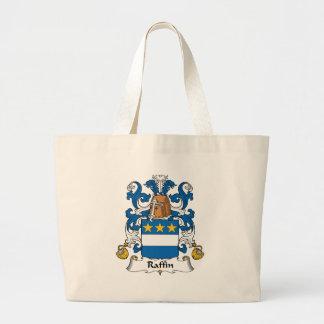 Escudo de la familia de Raffin Bolsa Lienzo