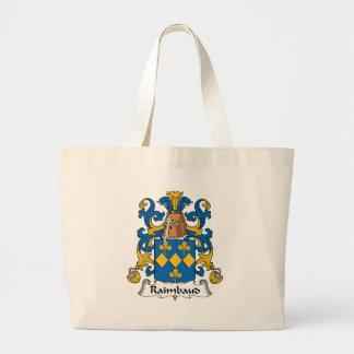 Escudo de la familia de Raimbaud Bolsas De Mano