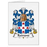 Escudo de la familia de Raimond Tarjetón