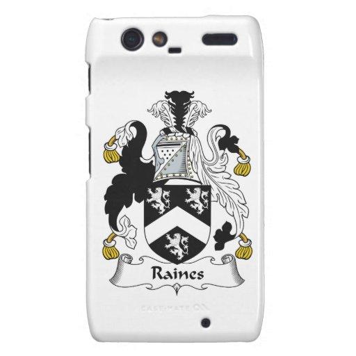 Escudo de la familia de Raines Droid RAZR Carcasa