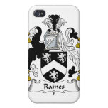 Escudo de la familia de Raines iPhone 4/4S Carcasa