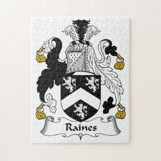 Escudo de la familia de Raines Rompecabezas