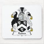 Escudo de la familia de Raines Tapete De Ratones