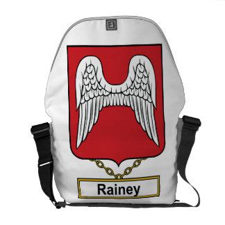 Escudo de la familia de Rainey Bolsas De Mensajería