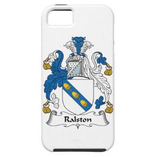 Escudo de la familia de Ralston iPhone 5 Case-Mate Protectores