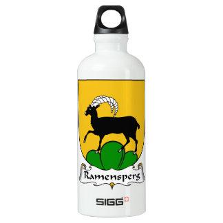 Escudo de la familia de Ramensperg Botella De Agua