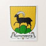 Escudo de la familia de Ramensperg Rompecabeza Con Fotos